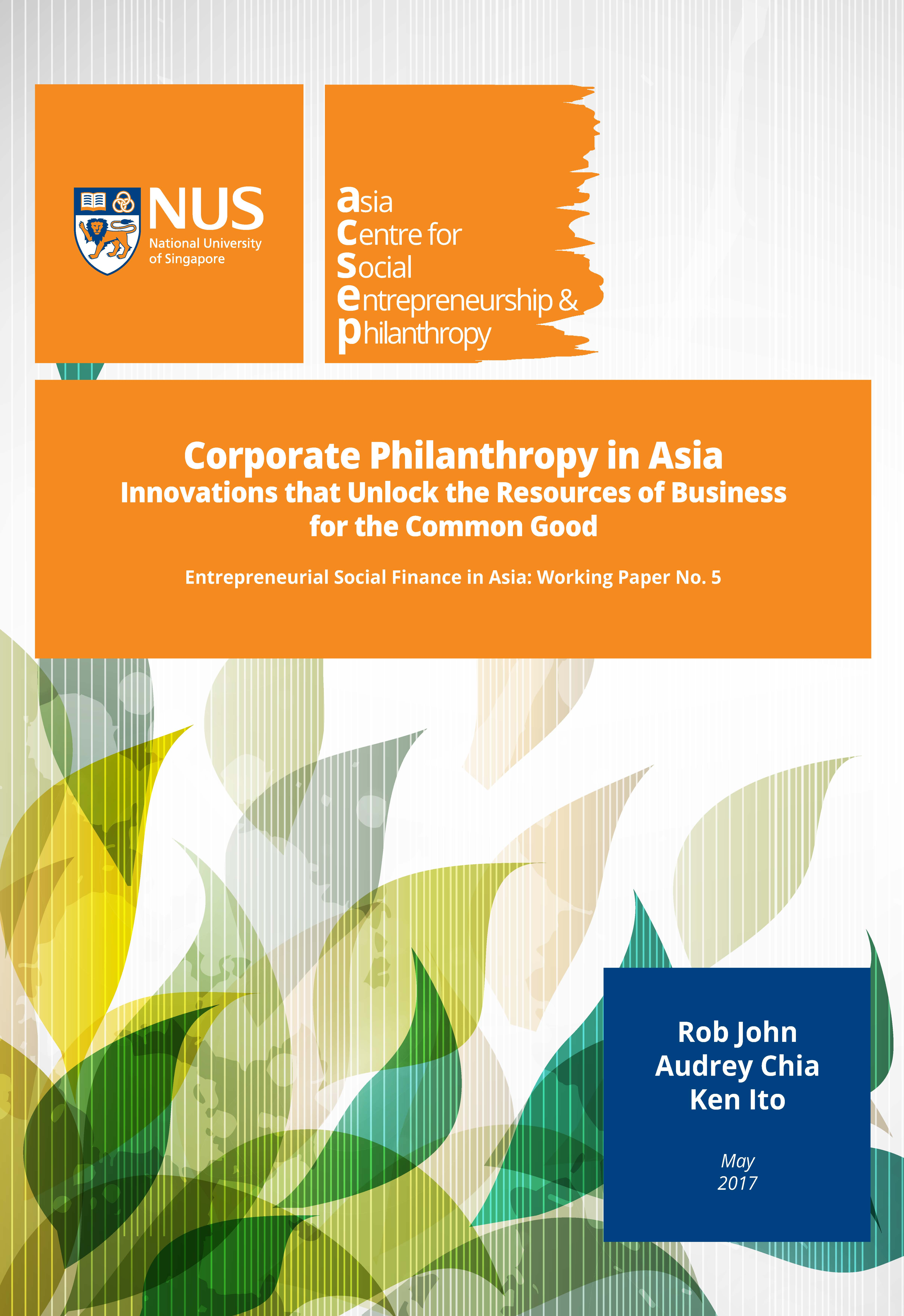Innovations that unlock the Resources of Business for the Common Good