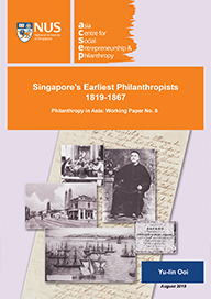 The Emergence of Chinese Women Philanthropists in Singapore, 1900-1945: The Sisterhoods of the Sor Hei