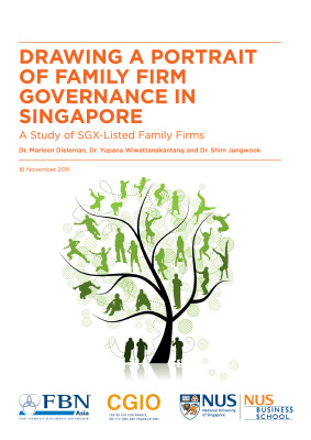 Drawing a Portrait of Family Firm Governance in Singapore: A Study of SGX-listed Family Firms